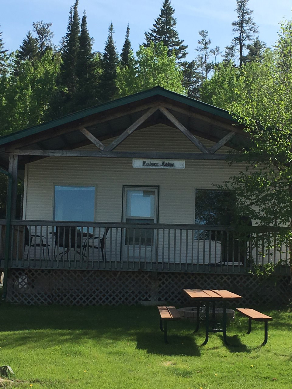 Crescent Beach Cottages at West Hawk Lake